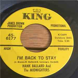 Hank Ballard & The Midnighters - I'm Back to Stay / Come On Wit' It download free